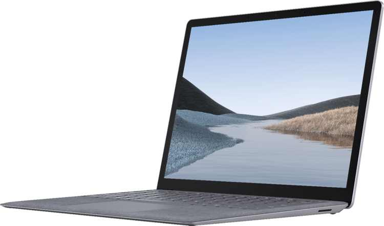 """Microsoft - Surface Laptop 3 - 13.5"""" Touch-Screen - Intel Core i5 - 8GB Memory - 128GB Solid State Drive (Latest Model) - Platinum"""
