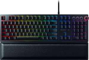 Huntsman Elite Wired Gaming Razer Linear Optical Switch Keyboard with RGB Back Lighting - Black