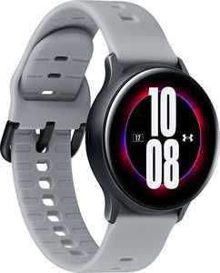 Samsung - Galaxy Watch Active2 Under Armour Edition Smartwatch 40mm Aluminum - Aqua Black
