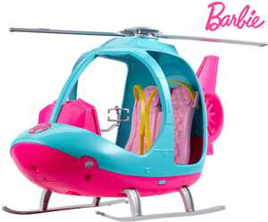 Barbie - Dreamhouse Adventures Helicopter - Blue/Pink