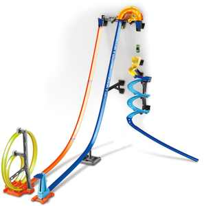 Hot Wheels - Track Builder Vertical Launch Kit - Blue/Orange