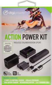 Digipower - Power Adapter - Black