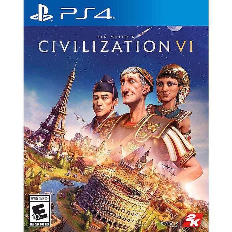 Sid Meier's Civilization VI Standard Edition - PlayStation 4, PlayStation 5