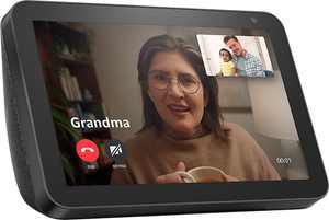 Amazon - Echo Show 8 with Smart Display and Alexa - Charcoal