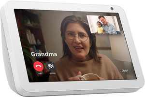 "Amazon - Echo Show 8"" Smart Display with Alexa - Sandstone"