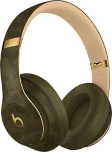 Beats by Dr. Dre - Beats Studio³ Camo Collection Wireless Noise Cancelling Over-the-Ear Headphones - Forest Green