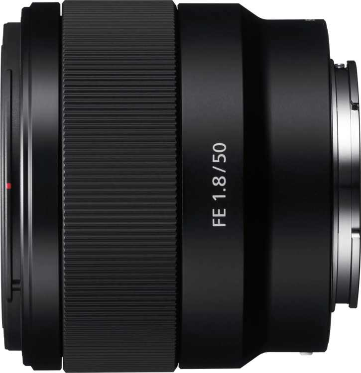 Sony - FE 50mm f/1.8 Standard Prime Lens for E-mount Cameras