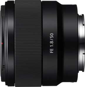 Sony - FE 50mm f/1.8 Standard Prime Lens for E-mount Cameras