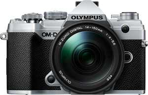 Olympus - OM-D E-M5 Mark III Mirrorless Camera with 14-150mm Lens - Silver