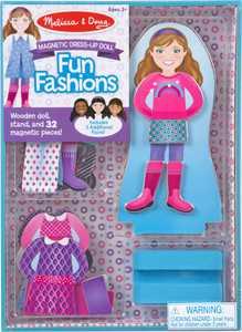 Melissa & Doug - Fun Fashions Magnetic Dress-Up Doll