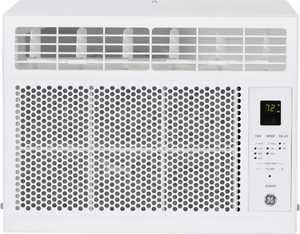 GE - 250 Sq. Ft. 6,000 BTU Window Air Conditioner - White