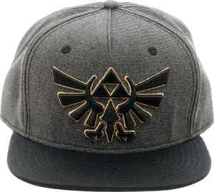 Bioworld - The Legend of Zelda Snapback Hat - Gray