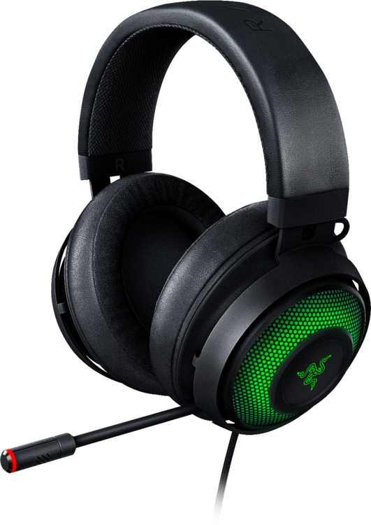 Razer - Kraken Ultimate Wired Over-the-Ear Headset - Classic Black