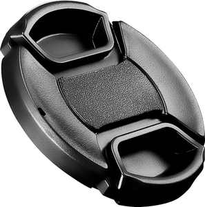 Platinum - 52 mm Lens Cap - Black