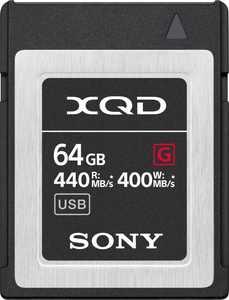 Sony - XQD-G Series 64GB XQD Memory Card
