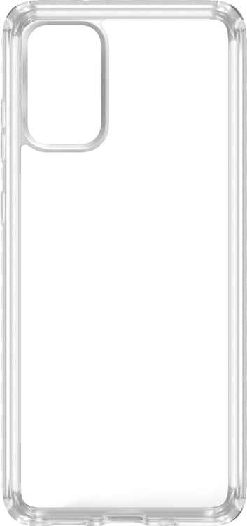 Insignia - Hard Shell Case for Samsung Galaxy S20+ 5G - Clear