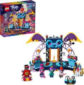 LEGO - Trolls World Tour Volcano Rock City Concert 41254