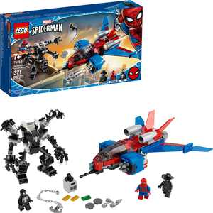 LEGO - Marvel Spider-Man: Spider-Jet vs. Venom Mech 76150