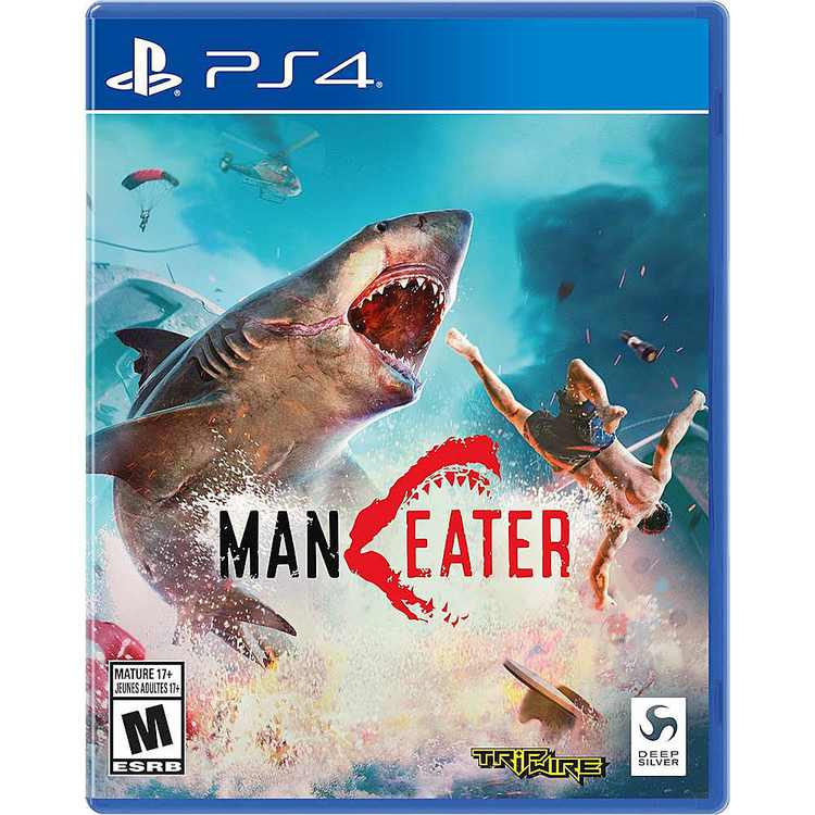 Maneater Standard Edition - PlayStation 4, PlayStation 5