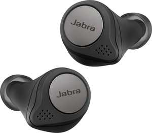 Jabra - Elite Active 75t True Wireless Active Noise Cancelling In-Ear Headphones - Titanium Black