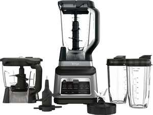 Ninja - Professional Plus Kitchen System with Auto-iQ - Black/Stainless Steel
