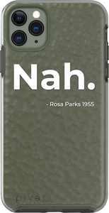 pivet - Glacier+ pro Black History Month Nah Case for Apple iPhone 11 Pro Max - Olive Green