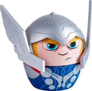 Bitty Boomers - Marvel Thor Portable Bluetooth Speaker - Silver/Blue