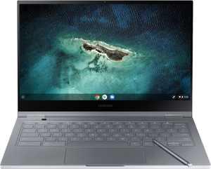 "Samsung - Galaxy 13.3"" 4K Ultra HD Touch-Screen Chromebook - Intel Core i5 - 8GB Memory - 256GB SSD - Mercury Gray"