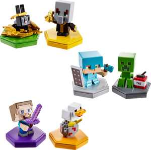 Minecraft - Earth Boost Mini Figure (2-Pack) - Styles May Vary