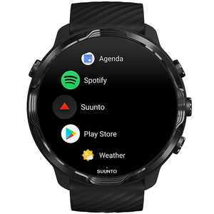 SUUNTO - 7 Powered by Google Wear OS Sports Smartwatch with GPS / Heart Rate - All Black