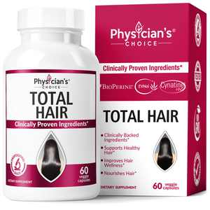 Physician's Choice Hair Growth Vitamins with Biotin and Keratin Softgels, 60 Ct.