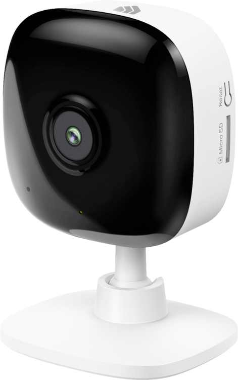 TP-Link - Kasa Spot Indoor 1080p Wi-Fi Wireless Network Surveillance Camera - Black/White