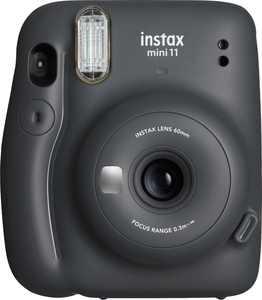 Fujifilm - instax mini 11 Instant Film Camera - Charcoal Gray