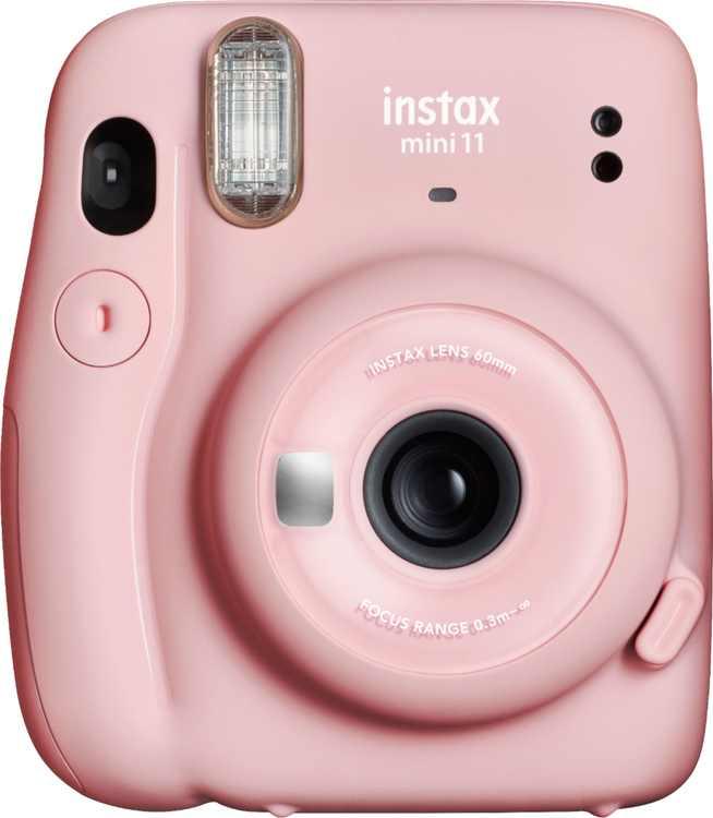 Fujifilm - instax mini 11 Instant Film Camera - Blush Pink