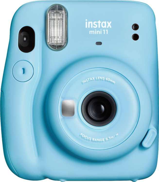 Fujifilm - instax mini 11 Instant Film Camera - Sky Blue