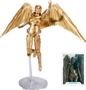McFarlane Toys - DC Multiverse Wonder Woman Gold Armor: Wonder Woman 1984 - Multi