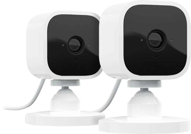 Blink - Mini Indoor 1080p Wi-Fi Security Camera (2-Pack) - White