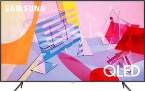 """Samsung - 75"""" Class Q60T Series QLED 4K UHD Smart Tizen TV"""