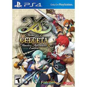 Ys: Memories of Celceta Timeless Adventurer Edition - PlayStation 4, PlayStation 5