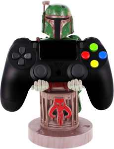 Star Wars - Boba Fett 8-inch Cable Guy Phone and Controller Holder - Multi