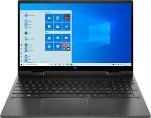 "HP - ENVY x360 2-in-1 15.6"" Touch-Screen Laptop - AMD Ryzen 5 - 8GB Memory - 256GB SSD - Nightfall Black"