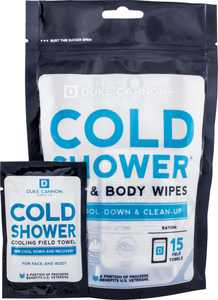 Duke Cannon - Cold Shower Cooling Field Towels (15-Pack) - White
