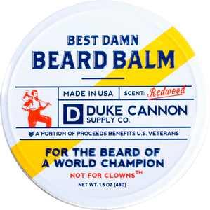 Duke Cannon - Best Damn Beard Balm - Tan/Cream
