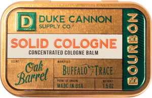 Duke Cannon - Bourbon Solid Cologne Balm - Cream