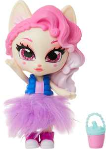 Jakks Pacific - Kitten Catfe Purrista Girls Series 1 Doll - Styles May Vary