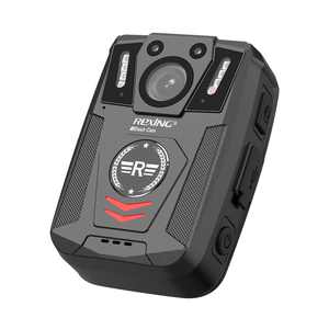 Rexing - P1 1080p FHD Body Camera with 64GB Internal Memory - Black