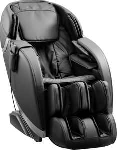 Insignia - Zero Gravity Full Body Massage Chair - Black with silver trim
