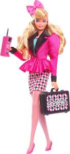 Barbie Rewind 80s Edition Career Girl Doll (11.5-In Blonde) With Fashion & Accessories