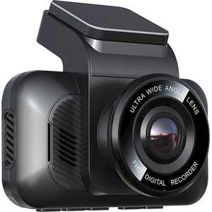 Rexing - V5 2160P 4K UHD Modular Front Wi-Fi Dash Cam - Black