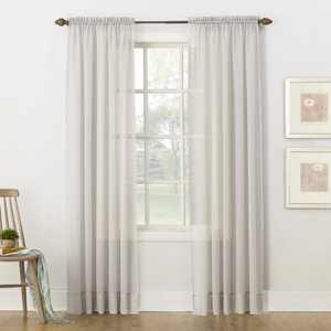 No. 918 Juliette Voile Sheer Rod Pocket Curtain Panel